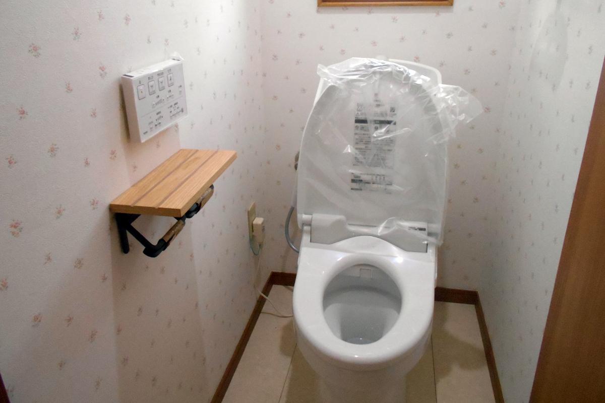 最新式のトイレです。